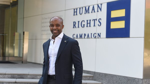 Alphonso David serves as the president of the Human Rights Campaign – the first civil rights lawyer and the first person of color to serve as president of the HRC in the organization's nearly 40-year history.