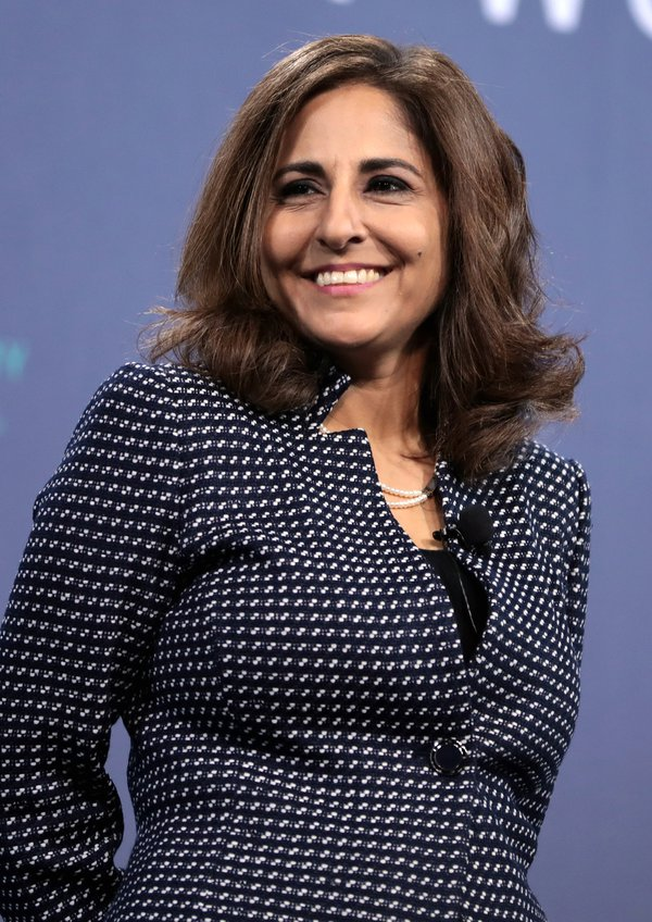 Neera Tanden speaking at an event in Las Vegas, Nevada. Photo by Gage Skidmore