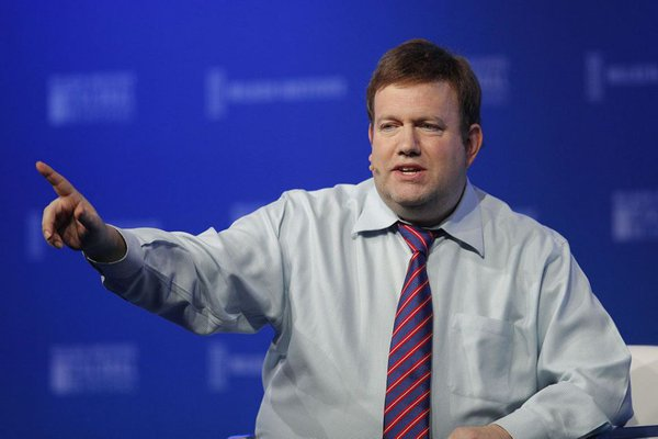Frank Luntz speaks at the Milken Institute Global Conference Monday, April 30, 2018. Creator: Jae C. Hong | Credit: AP Copyright: Copyright 2018 The Associated Press. All rights reserved.
