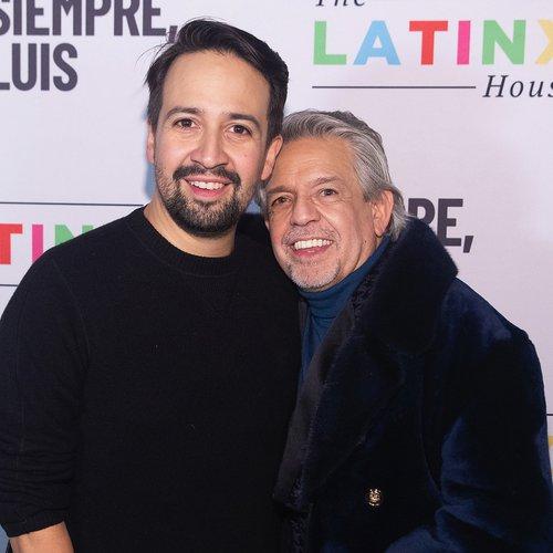 Luis and his son Lin-Manuel Miranda.